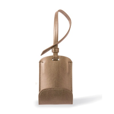 SULAN Classic Bag Tag Smartphone Charger in Gold