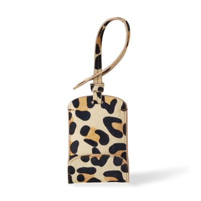 SULAN Premium Bag Tag Smartphone Charger in Leopard