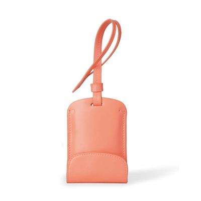 SULAN Fashion Bag Tag Smartphone Charger in Neon Orange