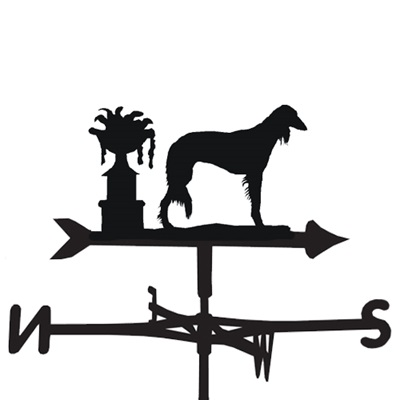 WEATHERVANE in Saluki Dog Design