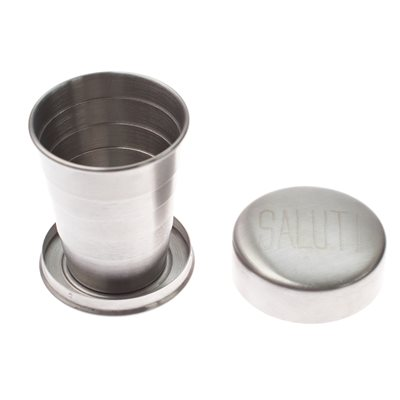 MEN'S SOCIETY STAINLESS STEEL COLLAPSIBLE CUP
