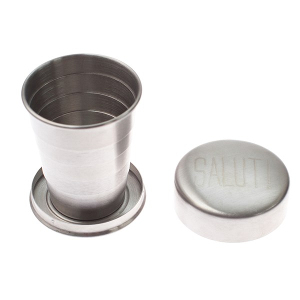 Mens Society Stainless Steel Collapsible Cup