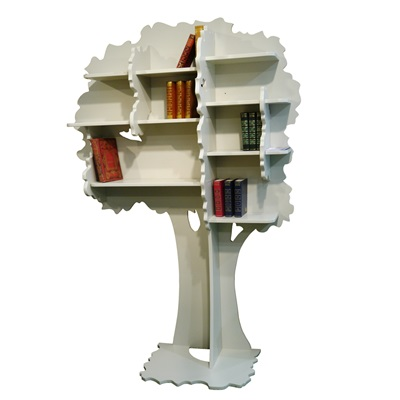 Mathy by Bols Childrens Tree Bookcase in Sam Design