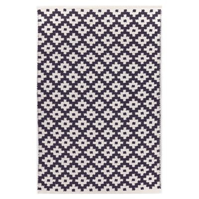 INDOOR OUTDOOR SAMODE RUG in Navy & Ivory