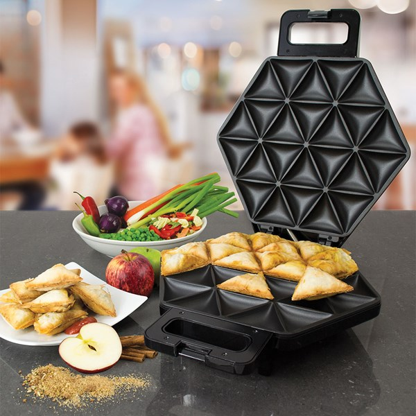 SMART Samosa Maker in Black and Silver