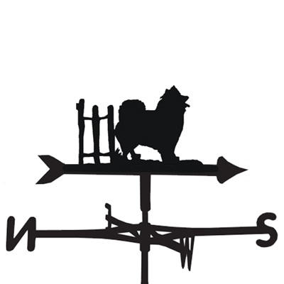 WEATHERVANE in Samoyed Design