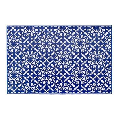 SAN JUAN OUTDOOR RUG in Dark Blue