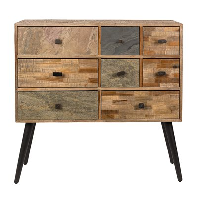 SAN RECYCLED TEAK CABINET