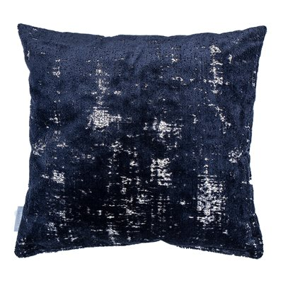 SARONA VELVET CUSHION in Blue