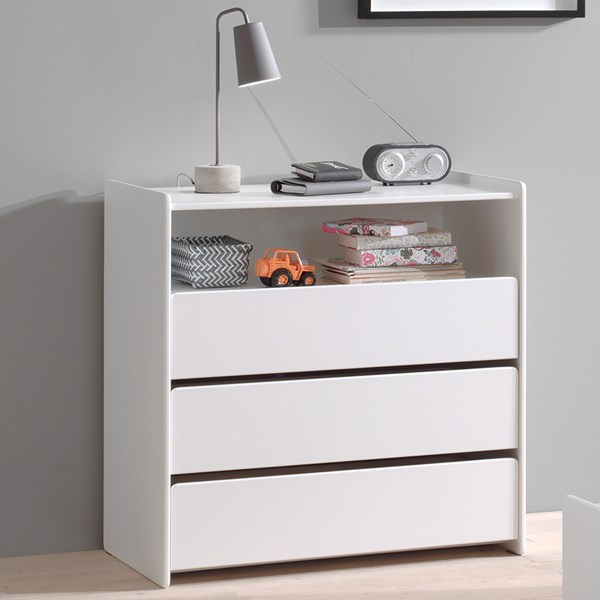 Kiddy Chest of Drawers in White
