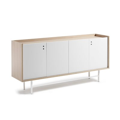 LISH LARGE SIDEBOARD in White and Oak