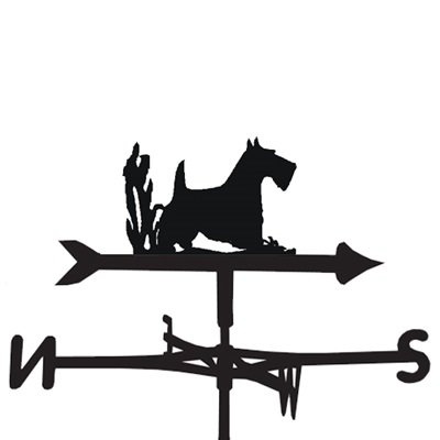 WEATHERVANE in Scottie Dog Design