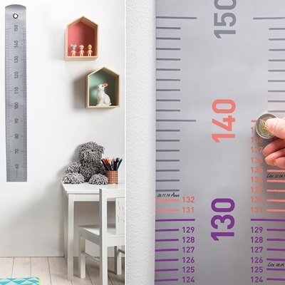 GROW UP HEIGHT CHART Scratch Off Design