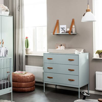 BLISS CHEST OF DRAWERS in Seagreen