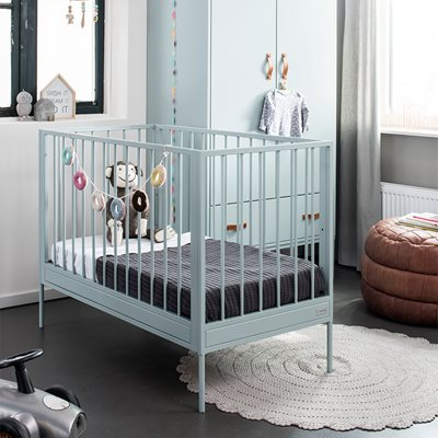 BLISS BABY COT in Seagreen