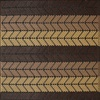 Brown Outdoor Rug for Garden Patio