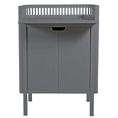SEBRA BABY CHANGING UNIT in Dark Grey