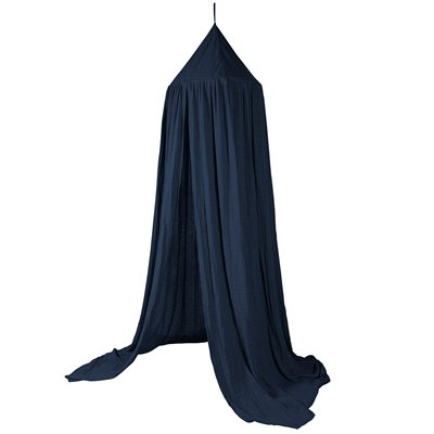 SEBRA COTTON CANOPY in Royal Blue
