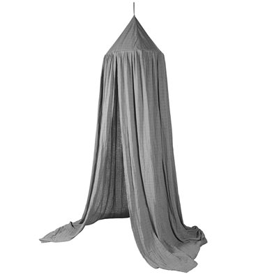 Sebra Cotton Canopy in Grey