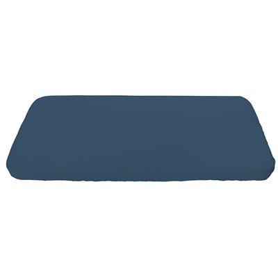 SEBRA ORGANIC COTTON FITTED SHEET in Royal Blue