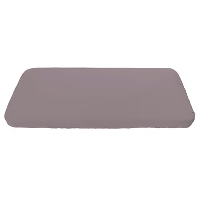 SEBRA ORGANIC COTTON FITTED SHEET in Dusty Rose