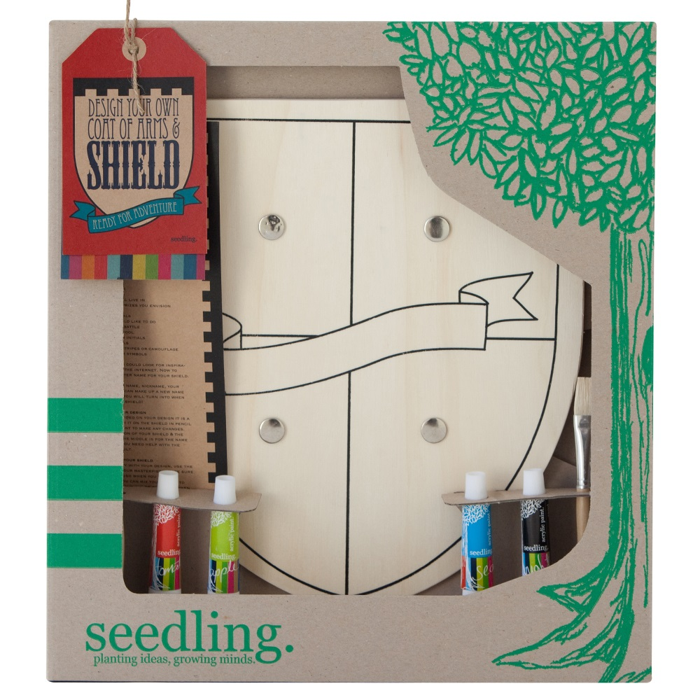 Seedling design your own shield activity set asobi for Design your own home for kids