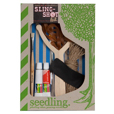 SEEDLING MAKE IT YOURSELF SLING SHOT Activity Set