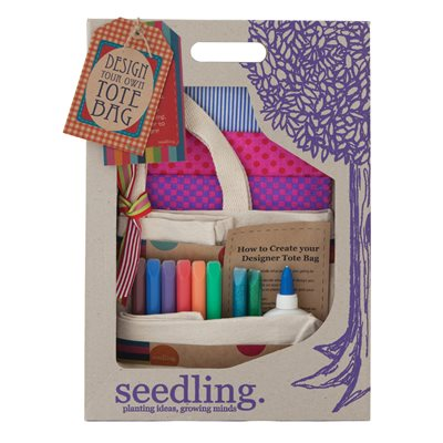 SEEDLING DESIGN YOUR OWN TOTE BAG Activity Set