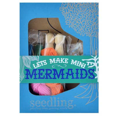 SEEDLING MAKE IT YOURSELF MINI MERMAID Activity Set