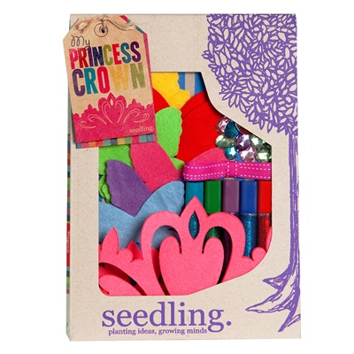 SEEDLING MAKE YOUR OWN PRINCESS CROWN Activity Set