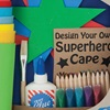Arts and Crafts Creative Superhero Kids Set by Seedling