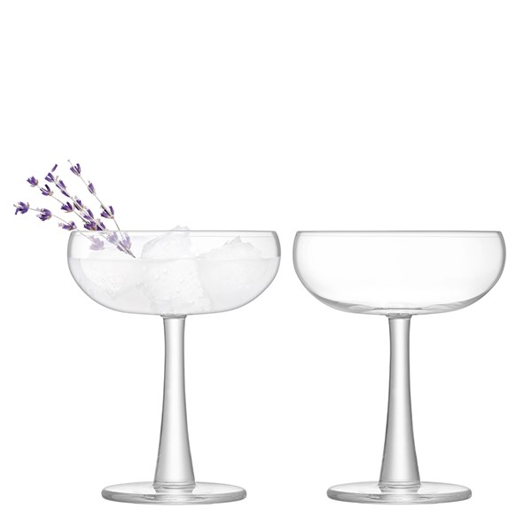 LSA International Gin Coupe Glasses Set of 2