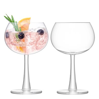 LSA GIN BALLOON GLASSES Set of 2