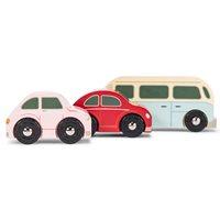 Le Toy Van Retro Metro Car Set