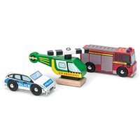 Le Toy Van Emergency Vehicles Set