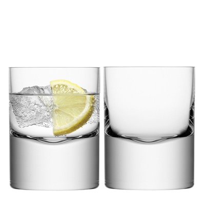 LSA BORIS TUMBLER GLASSES Set of 2
