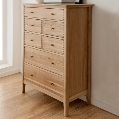 WILLIS & GAMBIER SPIRIT TALL CHEST OF 7 DRAWERS