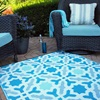 Outdoor Garden and Patio Rug in Seville Design