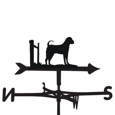 WEATHERVANE in Sharpei Dog Design