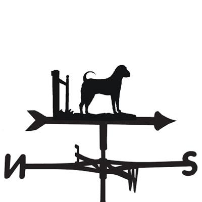 WEATHERVANE in Sharpei Dog Design