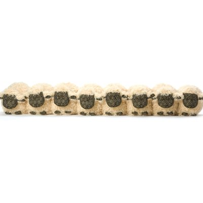 FLOCK OF SHEEP Animal Draught Excluder by Dora Designs