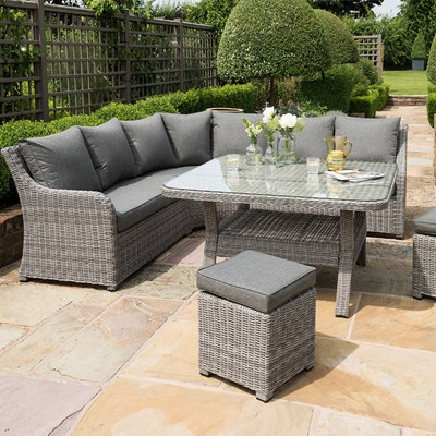 shelby outdoor corner sofa set in grey norfolk leisure cuckooland rh cuckooland com outdoor corner sofa grey outdoor corner sofa cover