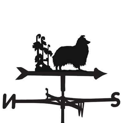 WEATHERVANE in Sheltie Dog Design