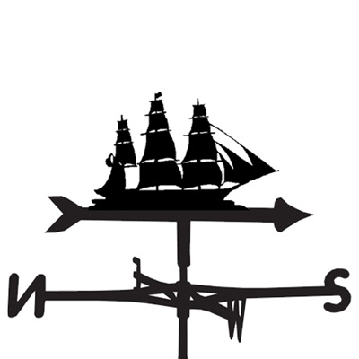 Weathervane in Shipahoy Sailing Boat Design