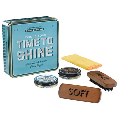 HOME FRONT SHOE SHINE KIT