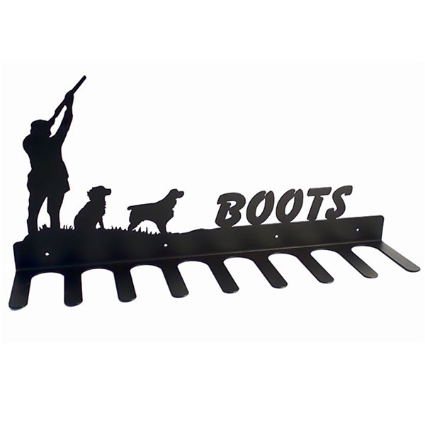 Boot rack in master and dog design
