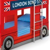 London Bus Bed for Kids - Side Section