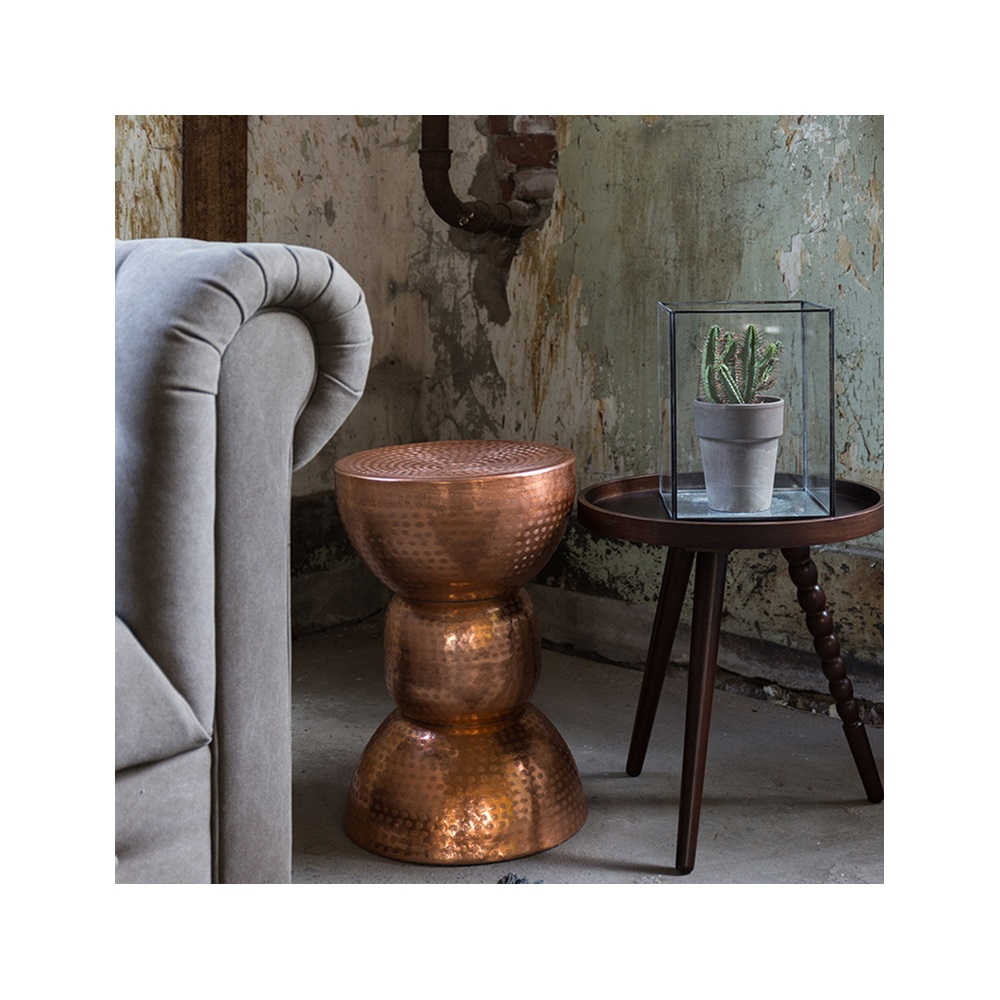 Kitchen Side Table: Dutchbone Warung Side Table In Metallic Copper