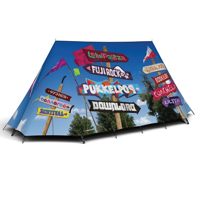 FIELDCANDY SIGNS 2 MAN FESTIVAL TENT