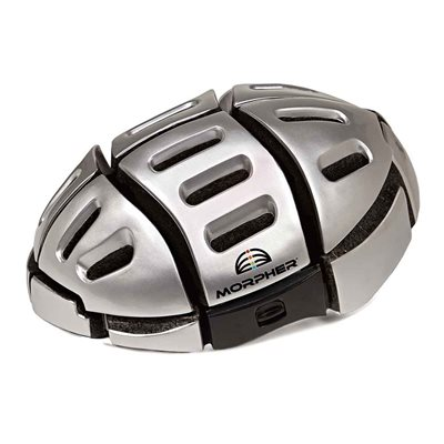 Morpher Folding Cycle Helmet in Silver